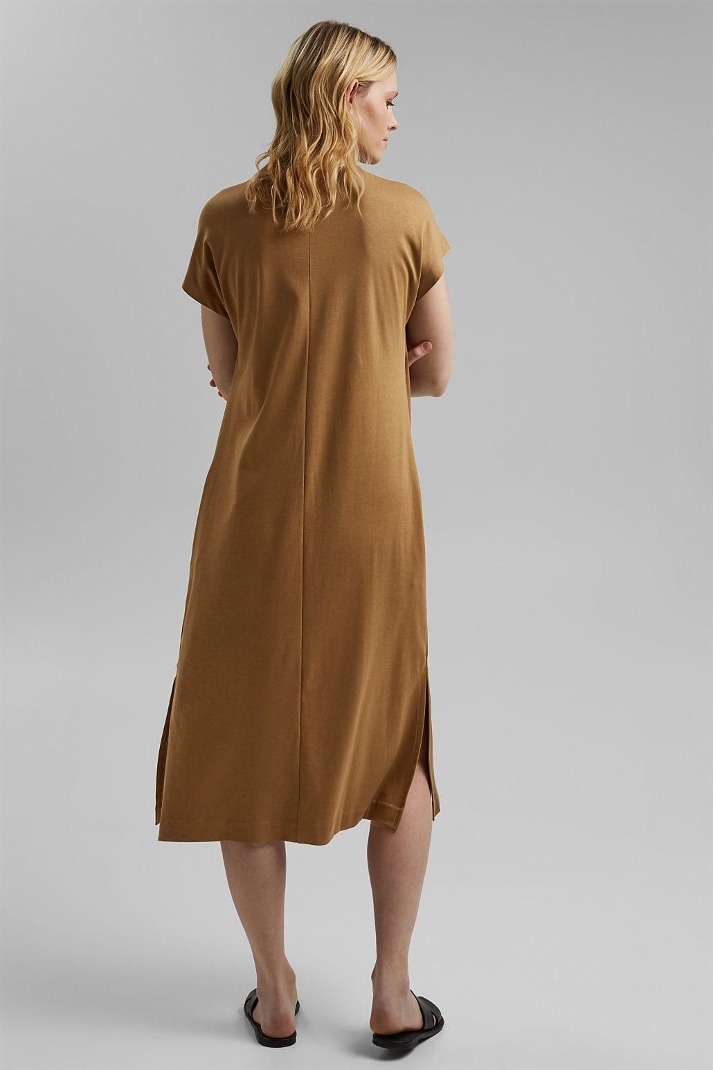 Trikåklänning - Bark