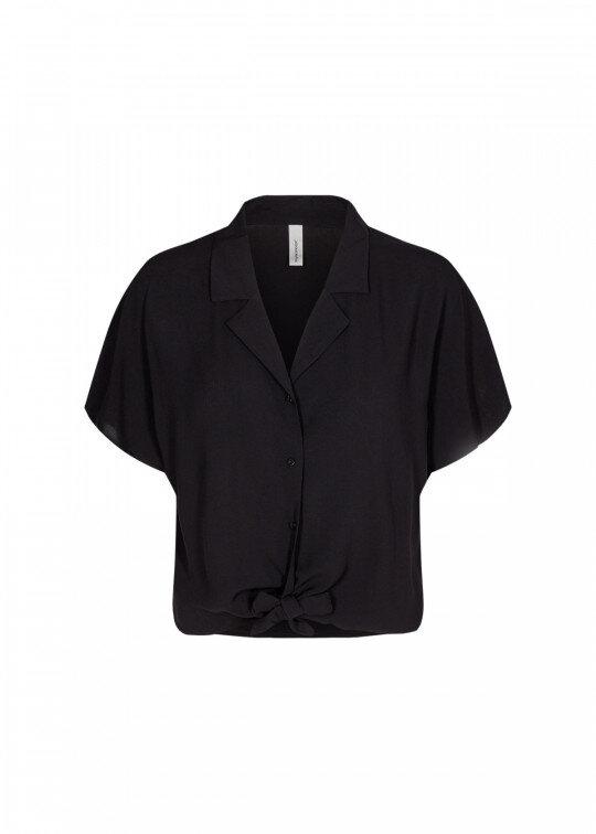 Knytskjorta - Black