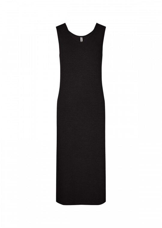 Basklänning Med Slits - Black