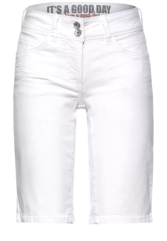 Vita Jeansshorts - White