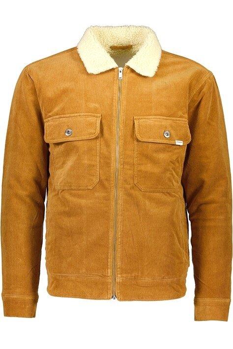 Stretch Corduroy Jacket - Camel