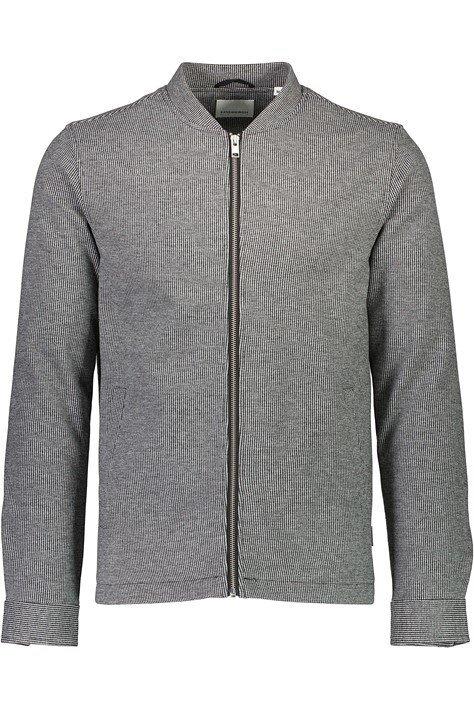 Smårutig Overshirt - Lt Grey