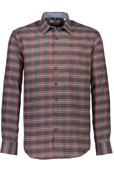 Rutig skjorta - Bordeaux