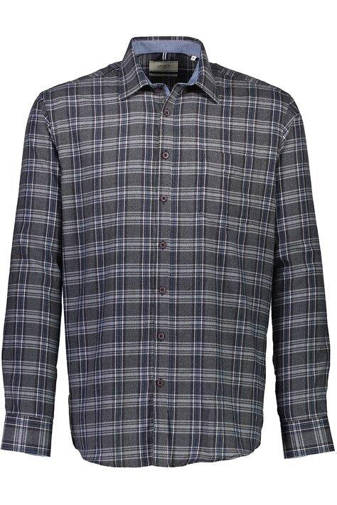 Rutig skjorta - Dk Grey
