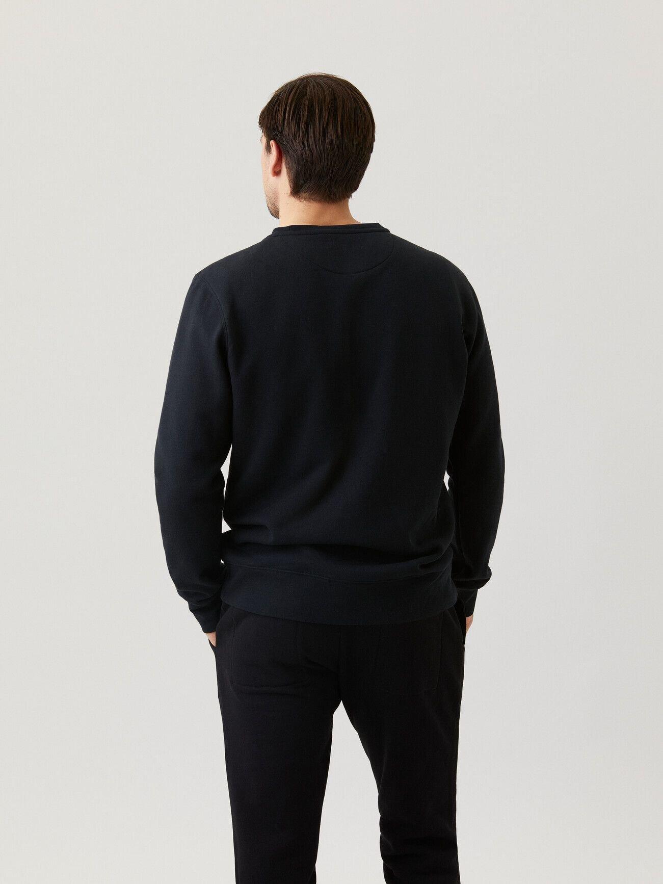 Centre Crew Sweatshirt - Black Beauty