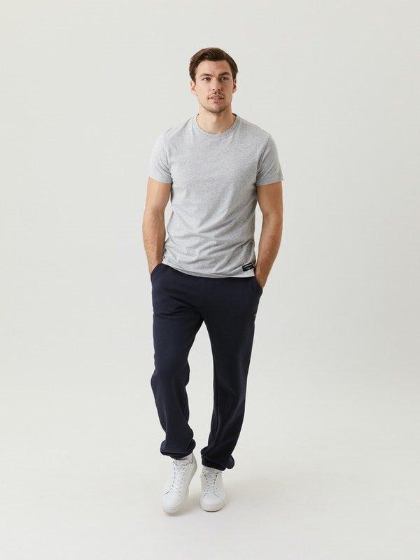 Centre T-shirt - Light Grey Melange