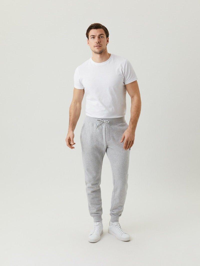 Sweatpants - Light Grey Melange