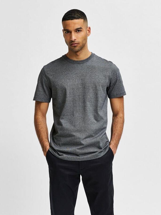 Randig bas t-shirt - Black