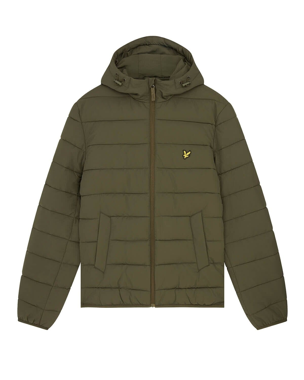 Lightweight Puffer Jacket - W485 Olive