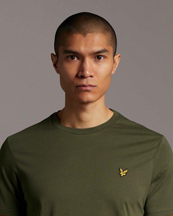 Plain T-shirt O-Neck - Olive