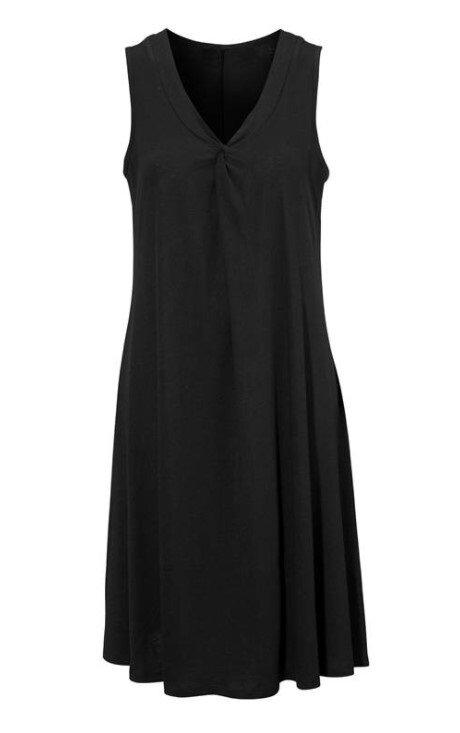 A-linjeformad Klänning - Black