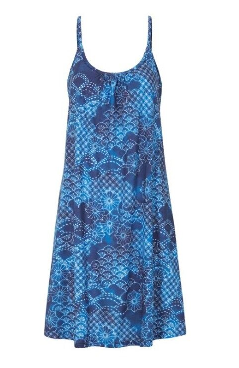 Ärmlös strandklänning - Blue