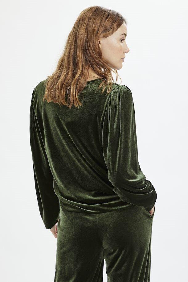Sweatshirt sammet - Rosin