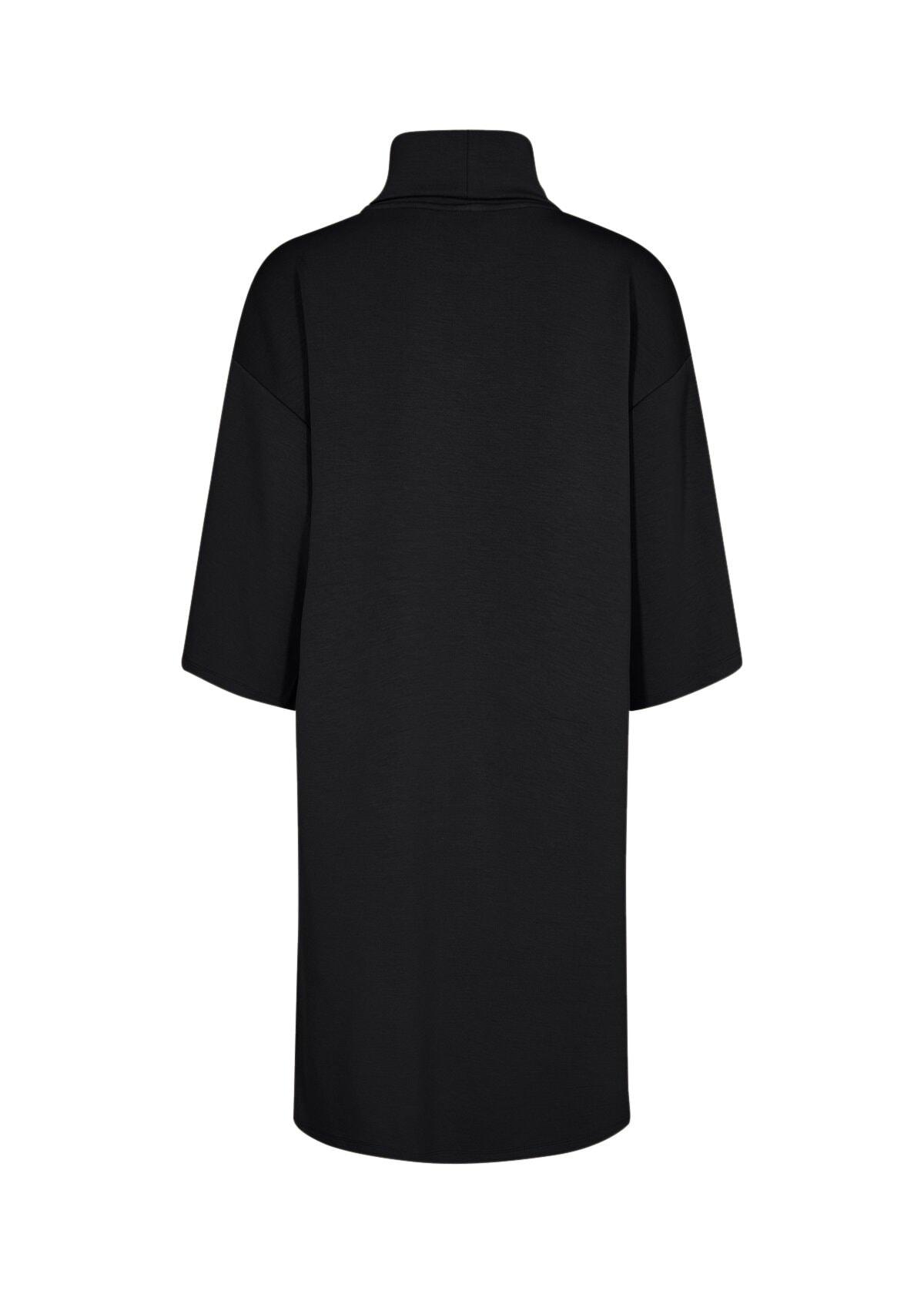 Klänning med krage - Black