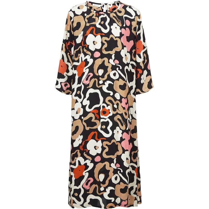 A-linjeformad klänning - Dusty Rose