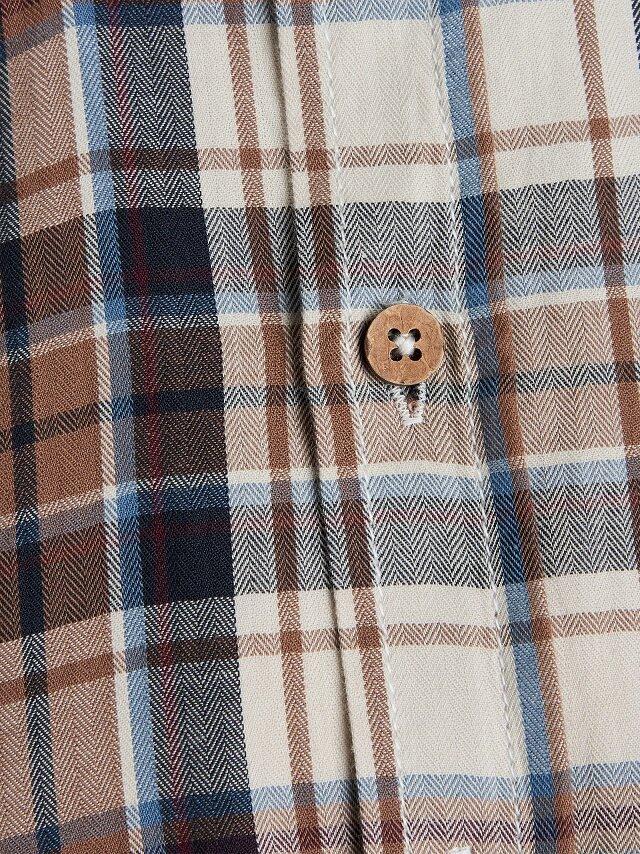 Button down skjorta - Brown Toast