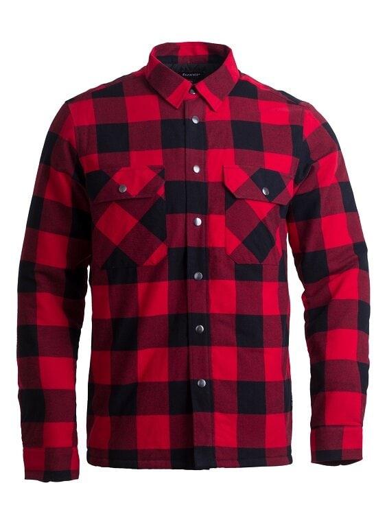 Fodrad skjorta - Chili Red